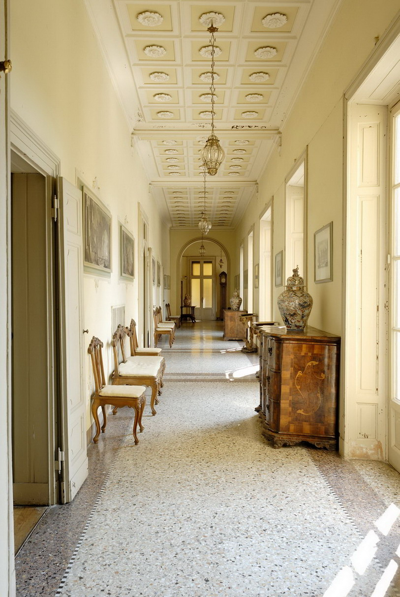 villa mapellimozzi galleria piano terreno